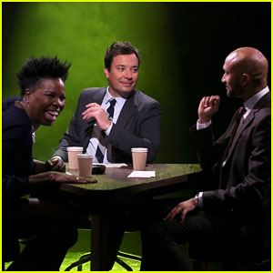 Leslie Jones & Keegan-Michael Key Play 'True Confessions' with Jimmy Fallon - Watch Here!