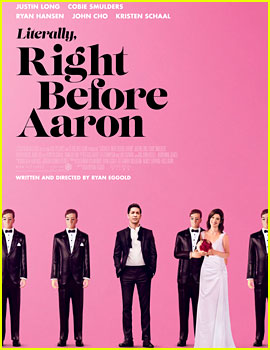 Justin Long & Cobie Smulders' 'Literally, Right Before Aaron' Poster Gives a Glimpse into the Film!