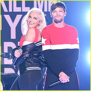 Louis Tomlinson & Bebe Rexha Team Up for 'Back to You' Performance on 'Fallon'