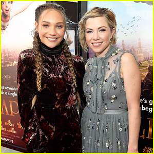 Maddie Ziegler & Carly Rae Jepsen Premiere Their Animated Film 'Leap!'