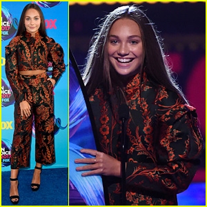 Maddie Ziegler Wins Choice Dancer at Teen Choice Awards 2017