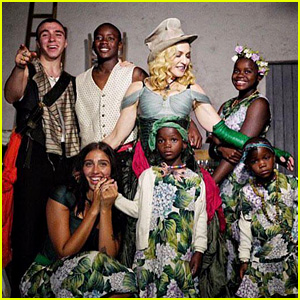 Madonna Shares Rare Photo of All Six of Her Kids Together!