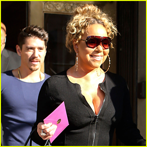 Mariah Carey & Boyfriend Bryan Tanaka are All Smiles in NYC