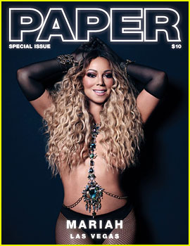 Mariah Carey Does a Sexy Photo Shoot with 'Paper'