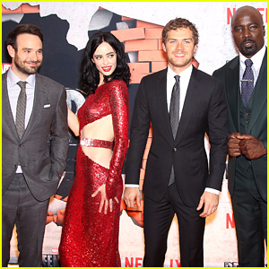 Marvel's 'The Defenders' Cast Teams Up for NYC Premiere!