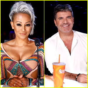Mel B Walks Off 'America's Got Talent' Stage After Simon Cowell Makes Insensitive Joke