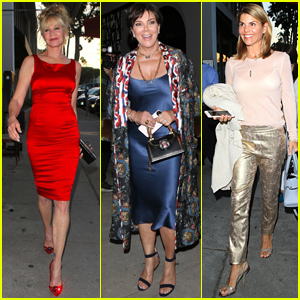 Melanie Griffith Celebrates Her 60th Birthday with Kris Jenner & Lori Loughlin