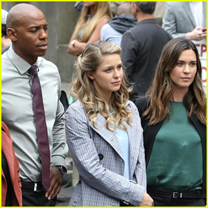 Melissa Benoist Continues Filming 'Supergirl' Season 3 in Canada