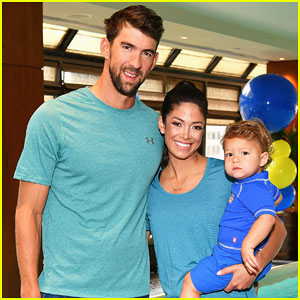 Michael Phelps & Adorable Family Team Up with Huggies!