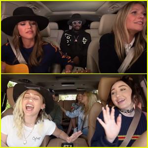 Miley Cyrus, Gwyneth Paltrow, Ariana Grande & More Sing Along in 'Carpool Karaoke' Teaser- Watch Now!