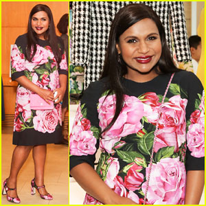 Mindy Kaling Shows Off Baby Bump at 'Mindy Project' Costume Exhibit Opening!