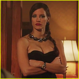 Jessica Chastain Stars in 'Molly's Game' Trailer as a Poker Queen - Watch Now!