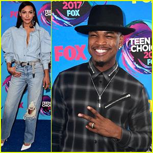 'Step Up' Stars Naya Rivera & Ne-Yo Present at Teen Choice Awards 2017!