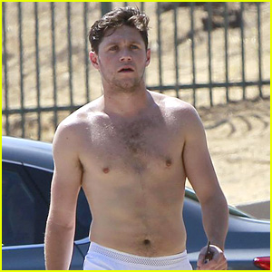 Niall Horan Goes Shirtless for Hike at L.A.'s Runyon Canyon!