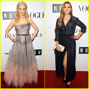 Nicole Kidman & Elizabeth Olsen Delight Down Under at NGV Gala!
