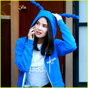 Olivia Munn Is Clearly Excited to Watch 'The Tick' on Amazon