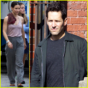 Paul Rudd Spotted on 'Ant-Man & The Wasp' Set with Evangeline Lilly & Michael Douglas!