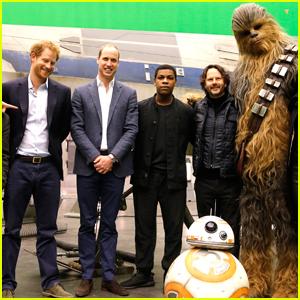 John Boyega Hints at Prince William & Harry Cameo in 'Star Wars: The Last Jedi'