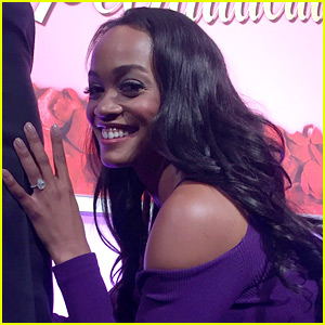 Rachel Lindsay Debuts Engagement Ring Ahead of 'The Bachelorette' Finale!
