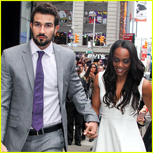 Rachel Lindsay Responds to Fan Claiming She Settled with 'Bachelorette' Choice