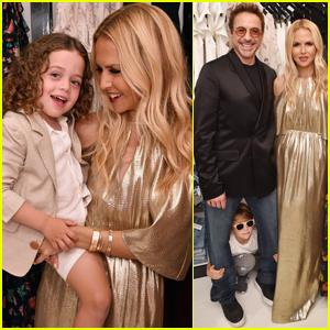 Rachel Zoe Celebrates Her Pop Up Shop With Robert Downey Jr.