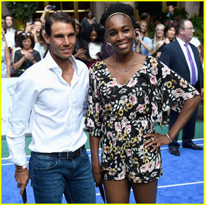 Rafael Nadal & Venus Williams Face Off at Lotte New York Palace Badminton Tournament!
