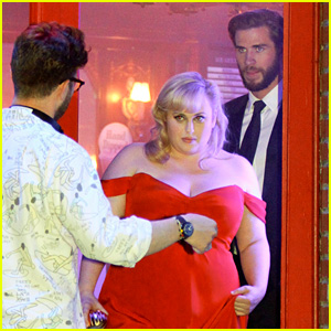 Rebel Wilson & Liam Hemsworth Get Glam for Last Night of 'Isn't It Romantic' Filming