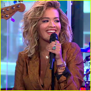 Rita Ora Performs 'Your Song' Live for 'GMA' (Video)