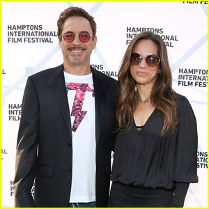 Robert Downey Jr. & Wife Susan Have Date Night in the Hamptons!