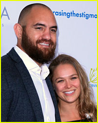 Ronda Rousey & Travis Browne's Wedding Photo Revealed!