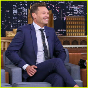 Ryan Seacrest Gives First Look at Costumes for 'Live' Halloween Special on 'Tonight Show' - Watch Here!