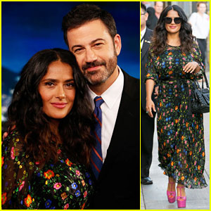 Salma Hayek Reveals Her Favorite Curse Word on 'Jimmy Kimmel Live' - Watch Here!