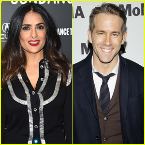Salma Hayek Plays Babysitter & Chef at Ryan Reynolds' House - See the Photo!