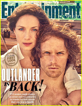 Outlander's Sam Heughan & Caitriona Balfe Give Us First Look at Season Three (While Looking Amazing!)