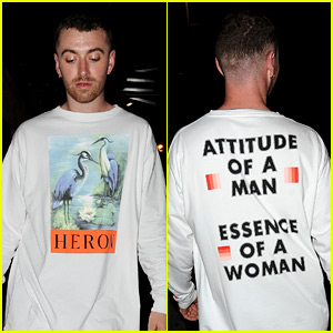 Sam Smith Has the 'Attitude of a Man, Essence of a Woman'