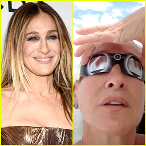 Sarah Jessica Parker Has Best Reaction to Solar Eclipse (Video)
