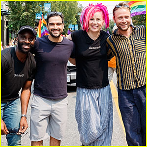 'Sense8' Cast & Lana Wachowski March in Vancouver Pride Parade!