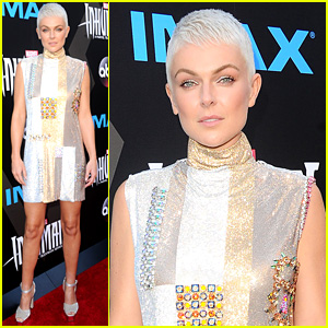 Serinda Swan Debuts Platinum Pixie Cut at 'Inhumans' Premiere!
