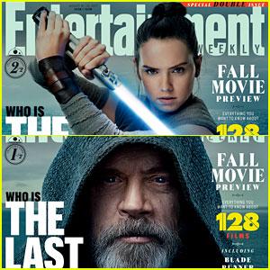 The Last Jedi's Daisy Ridley & Mark Hamill Talk Rey & Luke Skywalker with 'EW'
