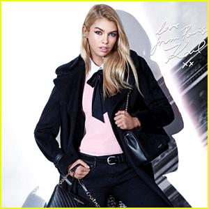 Stella Maxwell Stars in Karl Lagerfeld Paris Campaign!