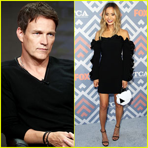 Stephen Moyer & Jamie Chung Are 'The Gifted' at Fox TCA Summer Party - Watch Sneak Peek!