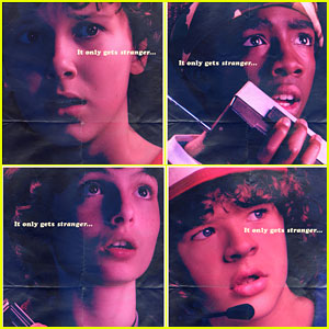 'Stranger Things' Season 2 Debuts New Character Posters!