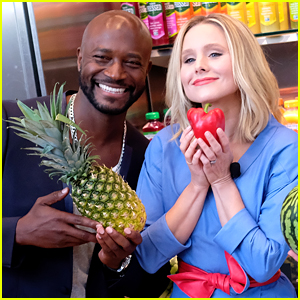 Taye Diggs & Kristen Bell Attend the #DrinkGoodDoGood Launch in NYC