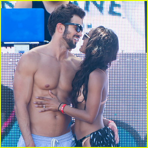 The Bachelorette's Rachel & Bryan Share Poolside Kiss in Miami