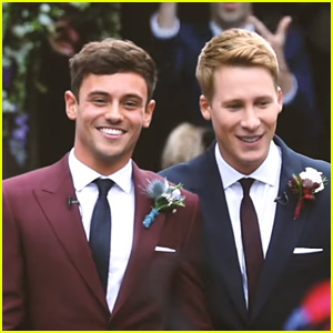 Tom Daley & Dustin Lance Black Share Their Wedding Video!