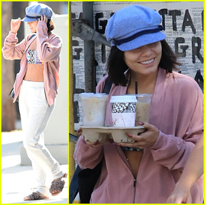 Vanessa Hudgens Shows Off Her Abs After Pilates Class