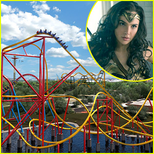 'Wonder Woman' Roller Coaster at Six Flags Will Make History!