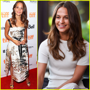 Alicia Vikander Makes Producer Debut With 'Euphoria' at TIFF 2017!