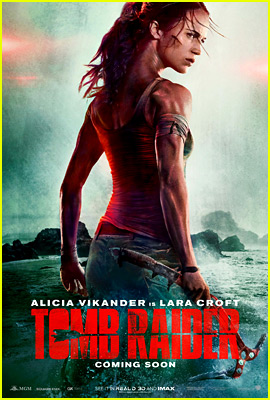 Alicia Vikander in 'Tomb Raider' - First Poster & Footage Debuts!