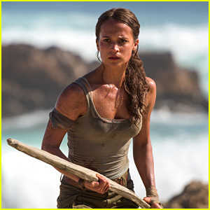 Alicia Vikander Stars as Lara Craft in First 'Tomb Raider' Trailer!